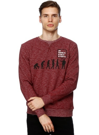 T-Box Sweatshirt Bordo